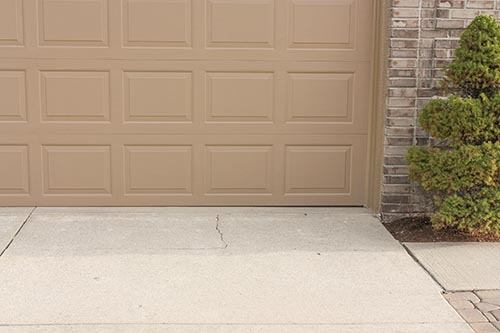 Uneven Garage Concrete in Greater Greensboro