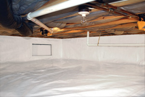 Crawl Space Repair After in Winston Salem