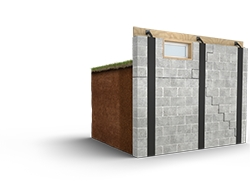 wall reinforcing system